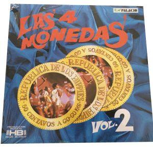 4 MONEDAS, LAS - Vol 2 (LP Palacio 1969)