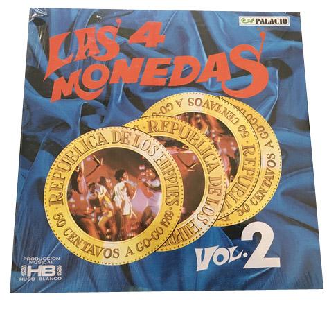 4 MONEDAS, LAS – Vol 2 (LP Palacio 1969) 1