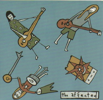 AFFECTED, THE - Mind / No One Else (SG,Clear 1+2 Records 1995)