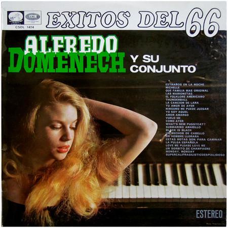 ALFREDO DOMENECH Y SU CONJUNTO – Exitos del 66 (LP La Voz de Su Amo 1966) 1