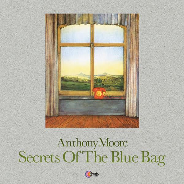 ANTHONY MOORE - Secrets Of The Blue Bag (LP,RE Wah Wah 1972,2019)