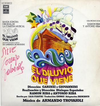 ARMANDO TROVAIOLI – BSO El Diluvio que Viene (OST Aggiungi un Posto a Tavola) (2LP,GF Emi Regal 1977) 1