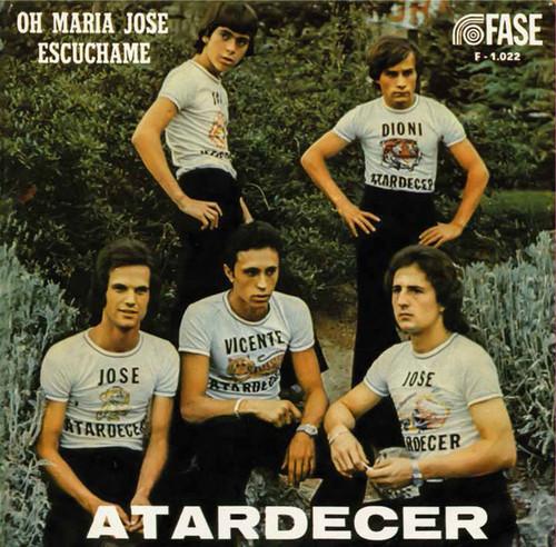 ATARDECER - Oh Maria Jose / Escuchame (SG,RE Madmua Records 1974,2017)