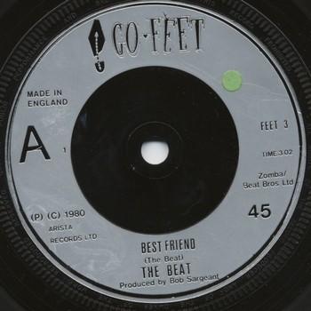 BEAT, THE – Best Friend / Stand Down Margaret (Dub) (SG Go-Feet 1980) 1