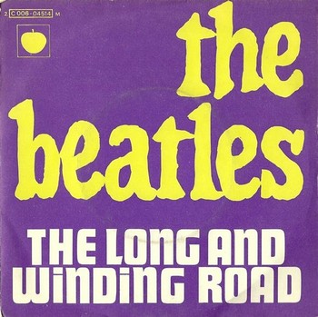 BEATLES, THE - The Long and Winding Road / For You Blue (SG Pathe Marconi 1970)