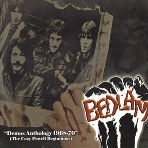 BEDLAM (PRE COZY POWELL) - Demos Anthology 1968-1970. The Cozy Powell Beginnings (LP,Comp Acid Nightmare 1968-70,2013)