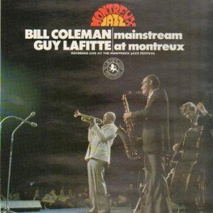 BILL COLEMAN & GUY LAFITTE - Mainstream at Montreux (LP Discophon  1976)