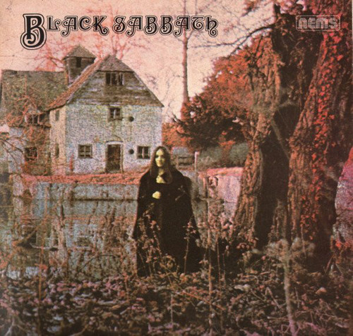 BLACK SABBATH - Black Sabbath (LP,GF,RE NEMS 1970)