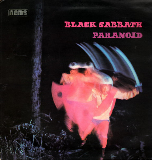 BLACK SABBATH - Paranoid (LP,GF,RE NEMS 1970)