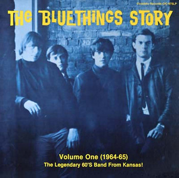 BLUETHINGS, THE - The Bluethings Story Volume One (1964-65) (LP Cicadelic 2010)