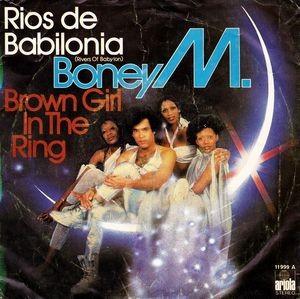 BONEY M - Rivers of Babylon / Brown Girl in the Ring (SG Ariola 1978)