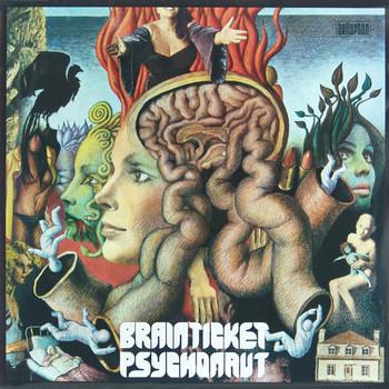 BRAINTICKET - Psychonaut (LP,RE Bellaphon 1971,1982)