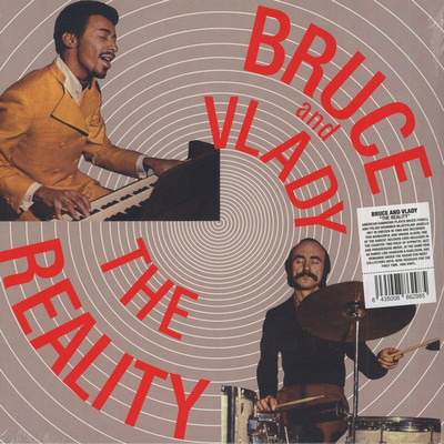 BRUCE AND VLADY - The Reality (LP,RE Vampi Soul 1970,2015)