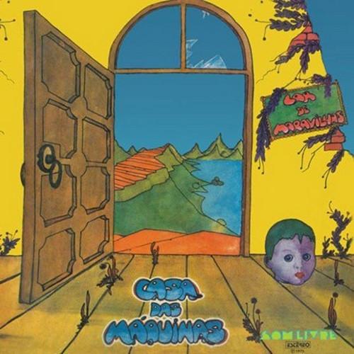 CASA DAS MAQUINAS - Lar de Maravilhas (LP,RE Sagara 1975,2016)