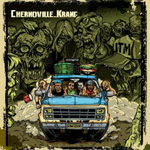 CHERNOVILLE / KRANG - Split (10i Punk Machine 2014)