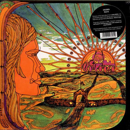 CHILDREN - Rebirth (LP,GF,RE Out·Sider 1968,2016)