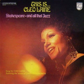 CLEO LAINE - This Is... Shakespeare and All That Jazz (LP,RE Philips 1964)