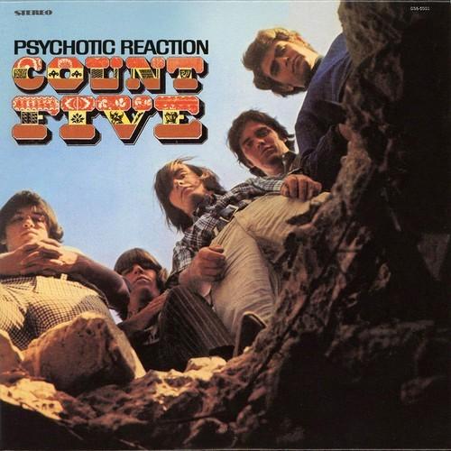 COUNT FIVE – Psychotic Reaction (LP,RE,Blue No Label 1966) 1