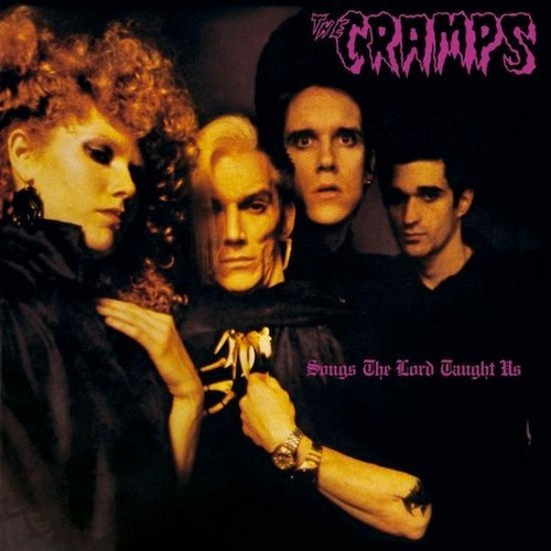 CRAMPS, THE – Songs the Lord Taught Us (LP,RE Illegal Records 1980) 1