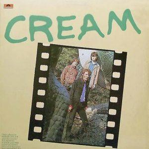 CREAM - Fresh Cream (LP,RE Polydor 1966,1974)