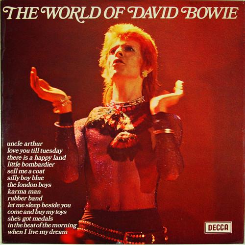 DAVID BOWIE – The World of (LP Decca 1970) 1