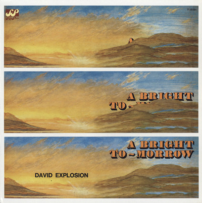 DAVID EXPLOSION - A Bright Tomorrow (LP,RE Acme 1971,2010)