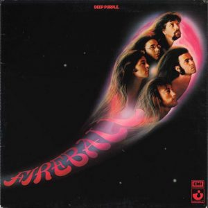 DEEP PURPLE - Fireball (LP,GF Harvest 1971)