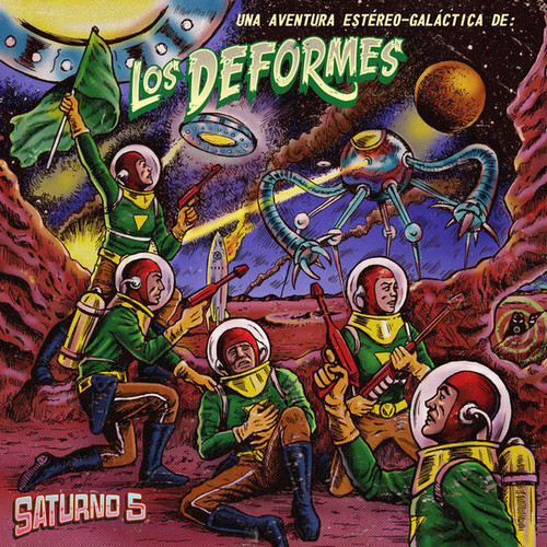 DEFORMES, LOS - Saturno 5 (EP Surf Cookie Records 2017)