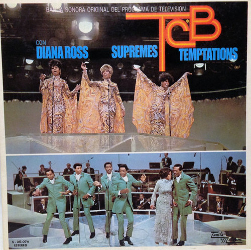 DIANA ROSS & THE SUPREMES & THE TEMPTATIONS – Takin Care of Business BSO OST (LP,GF Tamla Motown 1973) 1