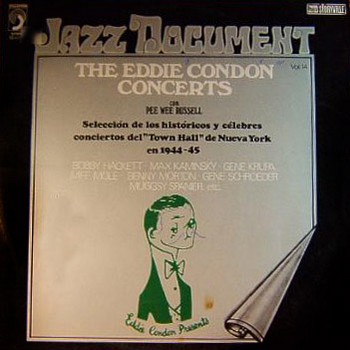 EDDIE CONDON – The Eddie Condon Concerts with Pee Wee Russell 1944-45 (LP Discophon  1976) 1