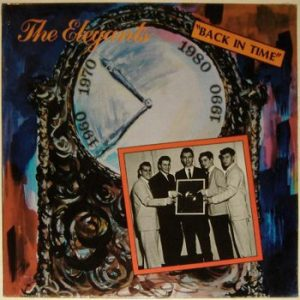 ELEGANTS, THE - Back in Time (1958-1985) (LP Crystal Ball 1990)