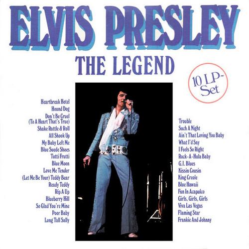 ELVIS PRESLEY - The Legend (10LP,Box Platinum 1983)