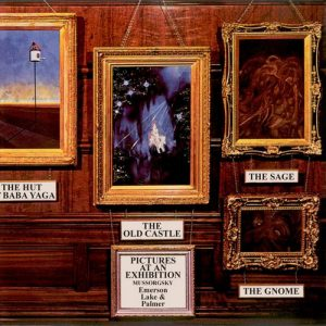 EMERSON, LAKE & PALMER - Pictures At An Exhibition (LP,GF Island 1971)