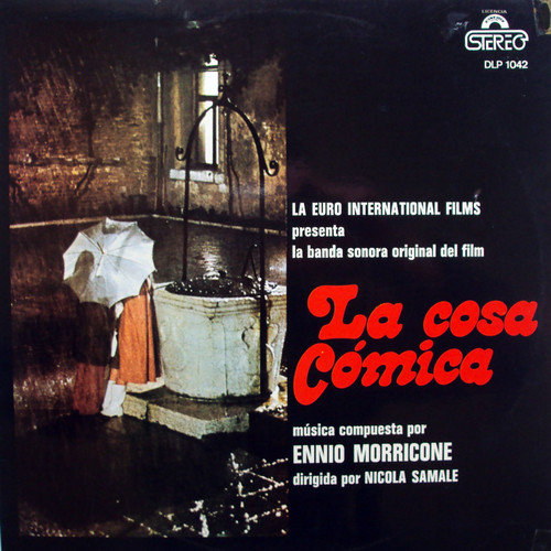 ENNIO MORRICONE – La Cosa Cosmica (La Cosa Buffa) (LP Diresa 1973) 1