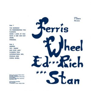 FERRIS WHEEL - Supernatural Girl (LP,RE Nicro 1974,2014)