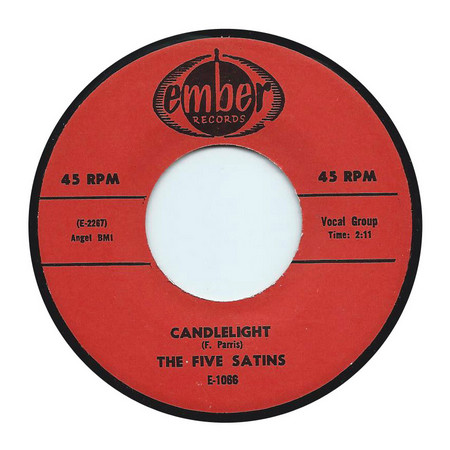 FIVE SATINS, THE - Candlelight / The Time (SG,RE Ember )