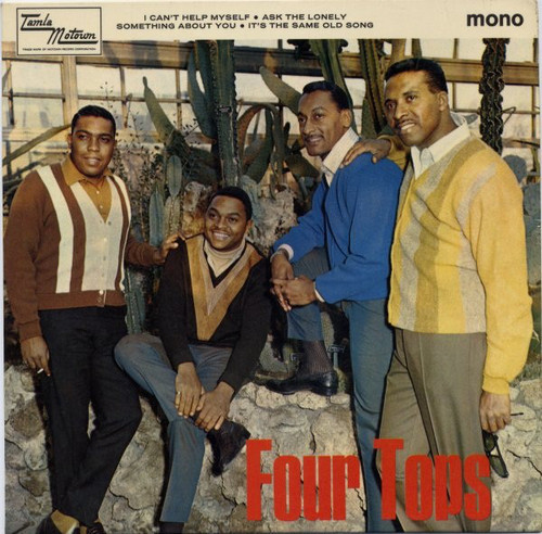 FOUR TOPS, THE - I Can't Help Myself (EP Tamla Motown 1966)