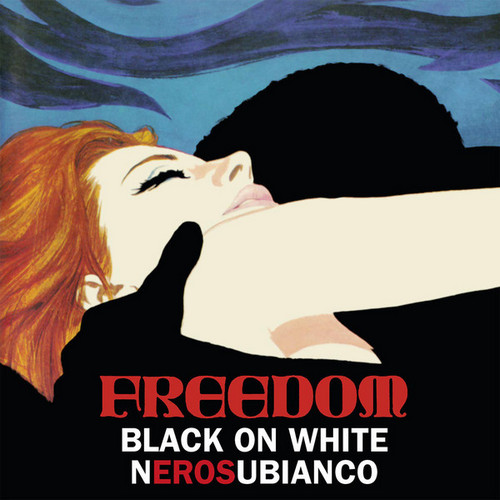 FREEDOM - Black On White - Serosubianco (LP,RE Sireena 1969,2016)