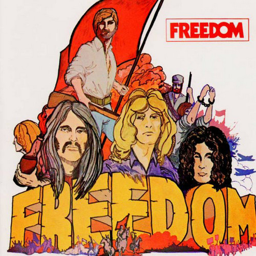 FREEDOM - Freedom (LP,GF,RE,White,180g Sireena 1970,2014)