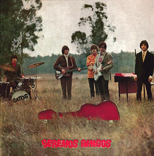 GATOS, LOS – Seremos Amigos (LP,RE Melopea Discos 1968,2017) 1