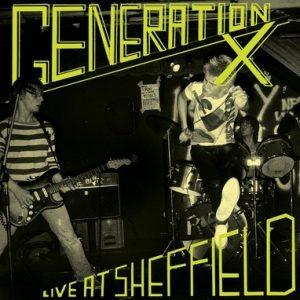 GENERATION X - Live at Sheffield (LP Munster 2016)