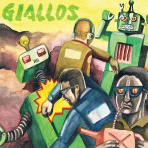 GIALLOS - Contra! (LP No Label 2013)