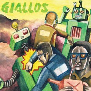 GIALLOS - Contra! (LP No Label 2013)
