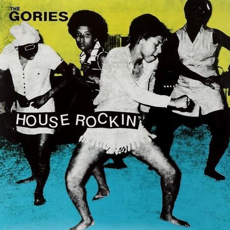 GORIES, THE - House Rockin' (LP,GF,RE Crypt 1989,2016)