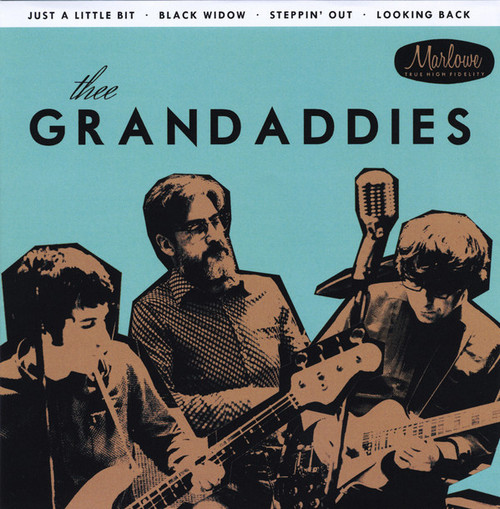 GRANDADDIES, THEE – Just a Little Bit (Portada Azul) (EP Marlowe Records 2016) 1