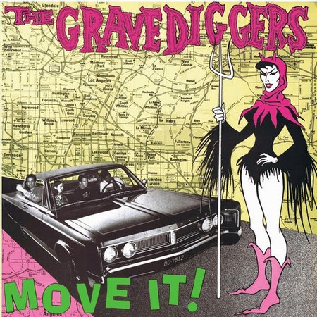 GRAVEDIGGERS, THE - Move It! (LP,RE,GF Crypt 1989,2013)