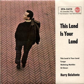 HARRY BELAFONTE - This Land Is Your Land (EP RCA Victor 1963)