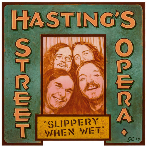 HASTING'S STREET OPERA - Slippery When Wet (LP,RE Out·Sider 1969,2019)