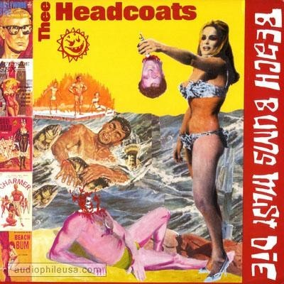 HEADCOATS, THEE - Beach Bums Must Die (LP Crypt 1990)