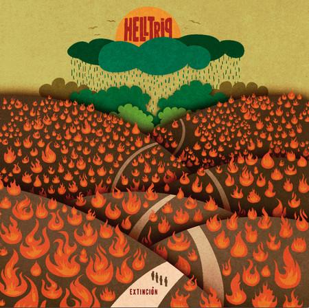 HELLTRIP - Extinción (LP Clifford 2014)
